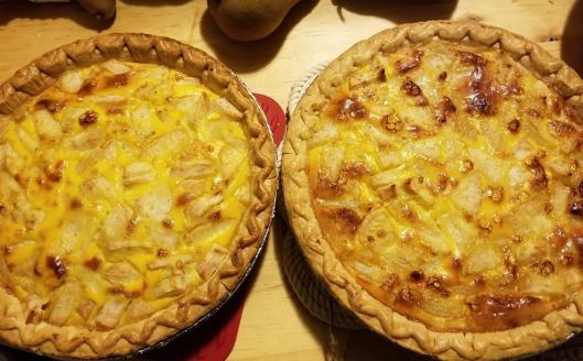 Dutch Cheese Pear Pie
